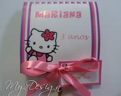Convite Pirulito Hello Kitty
