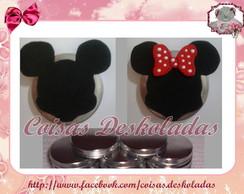 Latinha Decorada Minie/Mickey