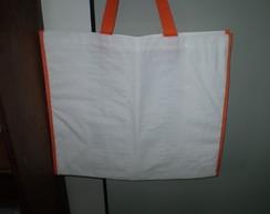 sacola de rafia laminada personalizada
