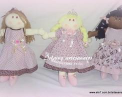 bonecas Loira,negra e branca
