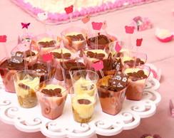 Verrines ou doces de copinho