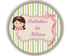 R�tulo para latinha Min to be