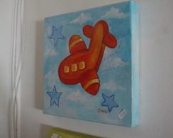 Painel Avi�o Vermelho