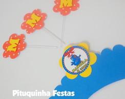 Wrapper Cup Cake Galinha Pintadinha