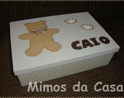 Caixa de Rem�dio Urso