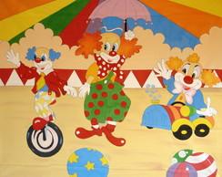 Painel Circo/Palha�os