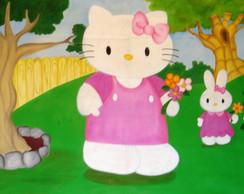 Painel Hello kitty