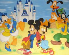 Painel Mickey e Minie