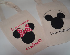 Mickey E Minnie - Ecobag Infantil