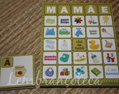 Bingo Personalizado Mam�e - Menino - Po�