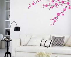 Adesivo floral para parede
