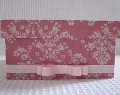 Caixa Forrada Em Tecido Floral Ros�