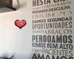 ADESIVO DECORATIVO PALAVRAS DE OTIMISMO