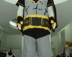 Pijama fantasia do Batman!