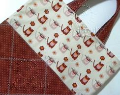 Sacolinha em tecido