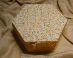 caixa sextavada