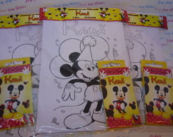 Kit Risque e Rabisque Mickey