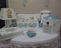Kit de higiene menino Baby 13 p�s
