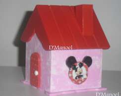 Mini casinhas tema Minie/mickey