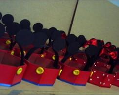 Cestinha Mickey e Minie - Brindes
