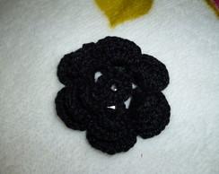 Tic Tac Com Flor Em Croch�