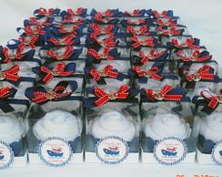 Cupcakes de toalha tema Marinheiro