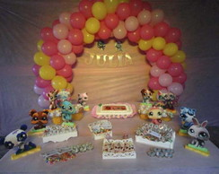 Decora��o Littlest Pet Shop