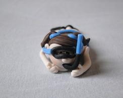 Forma de brigadeiro menina mergulhadora