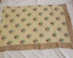 toalha de mesa ponto cruz e croch�