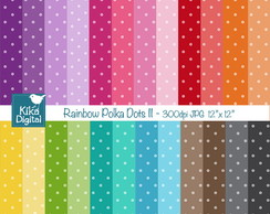 Pap�is Digitais Arco Iris de Po� II
