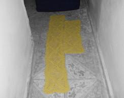 caminho de mesa e toalhinha para fog�o