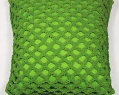 Almofada Croch� Pistache