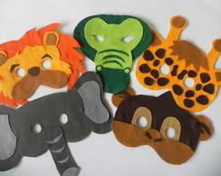 M�scaras Animais da Floresta