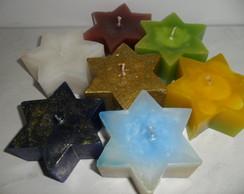 Vela em Formato de Estrela