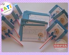 Mini Convite Ch� de Beb�