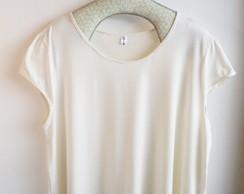 Camiseta Sissi Creme