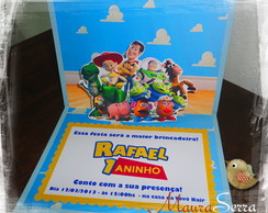 Convite Toy Story (pop-up)