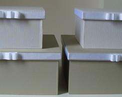 Dupla de Caixas Organizadoras