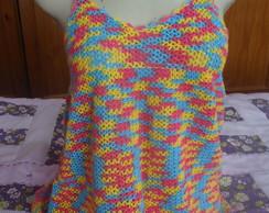 Blusinha de Croch� - Cores 2