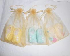 Sapatinhos de Croch� para Beb�