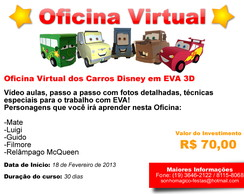 Oficina Virtual Carros Disney