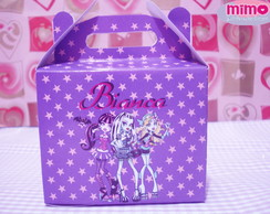 Caixa maleta tema Monster High