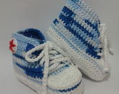 T�nis All Star Baby Azul e branco