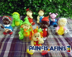 Personagens S�tio do Pica Pau Amarelo