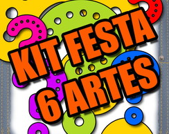 ARTES KIT FESTA - MONTE SEU KIT 6 ITENS