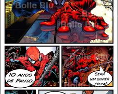 Homem Aranha Convite HQ Personalizado
