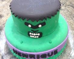 Bolo Decorado Hulk