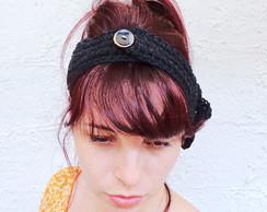 Acessorio Cabe�a Headband Algod�o