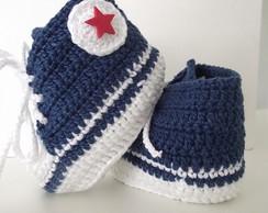Sapatinhos All Star De Croch�
