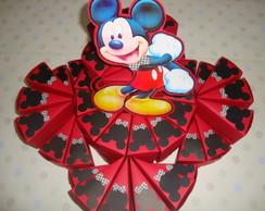 Bolo de caixinha fatia Mickey